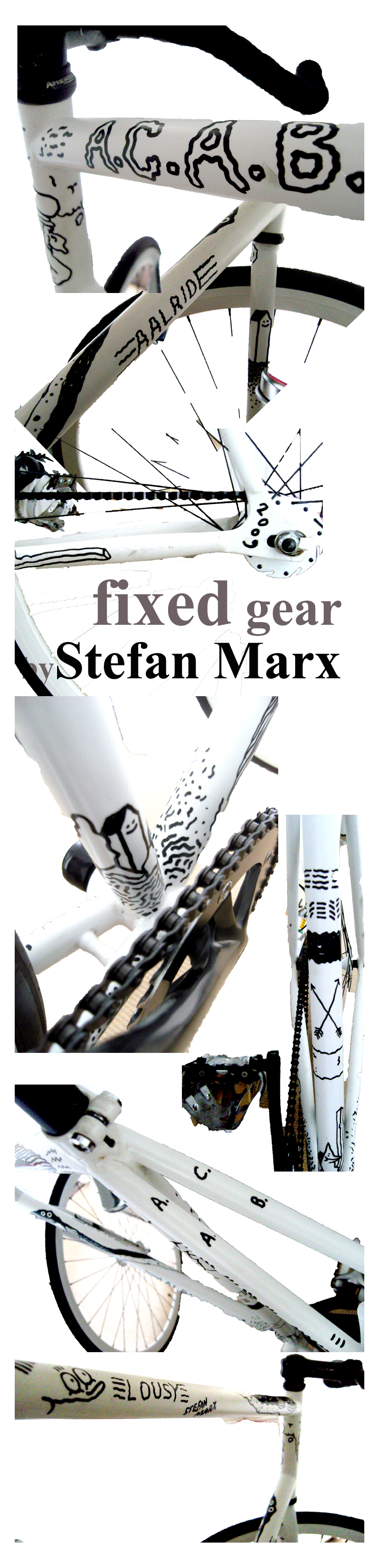 Fixed Gear Bike by Stefan Marx