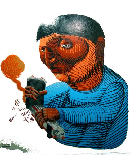 NUNCA Street Art Sao Paolo