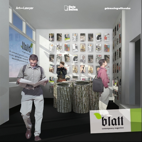 Blatt - Showroom Königsstrasse 16, Hamburg