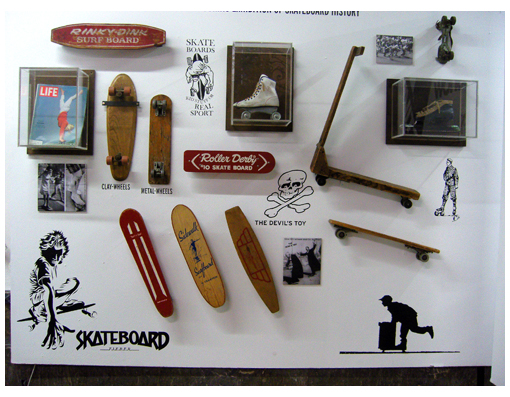 Made for Skate - antike Trasher Exemplare mit entsprechenden Decks