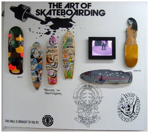 The ART of skateboarding