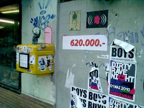 620.000 €, Postkasten kostet extra