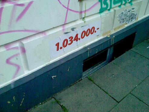 Street Art gegen Gentrifizierung in Hamburg