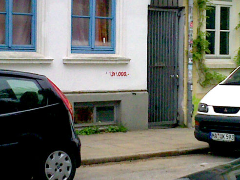 Idyllisches Häuschen an der Bernstorffstrasse für nur (äh) 1.030.000 €