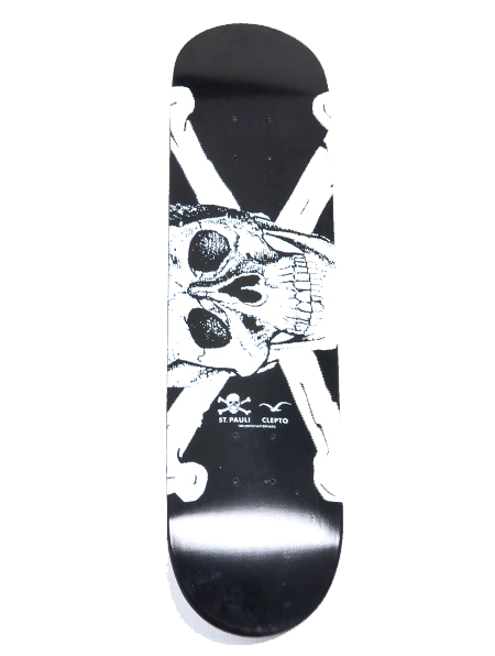 For the WIN!!! Cleptomanicx St.Pauli Skateboard