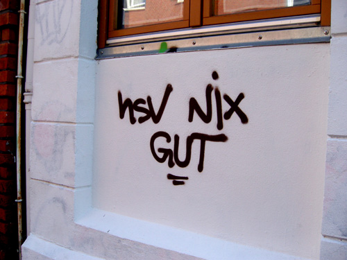 HSV nix gut Bernstorffstrasse