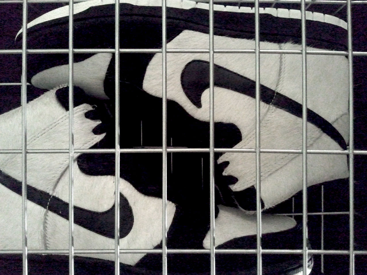 Nike Dunk High Panda Ueno Park