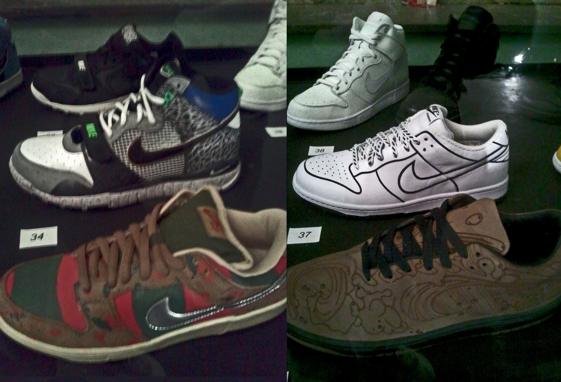 Dunk Low Pro SB Freddy Krueger, Trainer Dunk High Mita, Trainer Dunk Low Stussy World Tour, Dunk Low by Chris Lundy Laser Pack, Dunk Low Wmns One Piece, Dunk High Glow in the dark