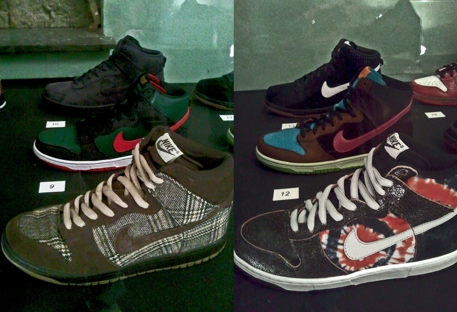 Dunk High Pro SB Tweed, Dunk High Pro SB Gucci, Dunk High DQM, Dunk High Pro SB HUF, Dunk High NL UNDFTD, Dunk High Alife Rivington Club