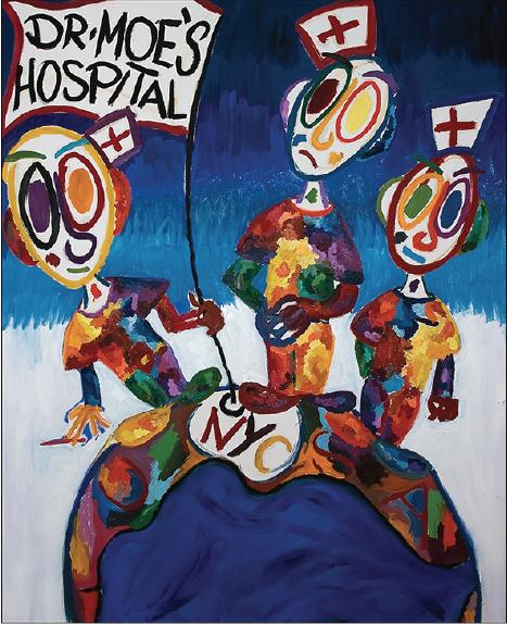 Doctor Moe's Hospital by Moritz Hoffmann