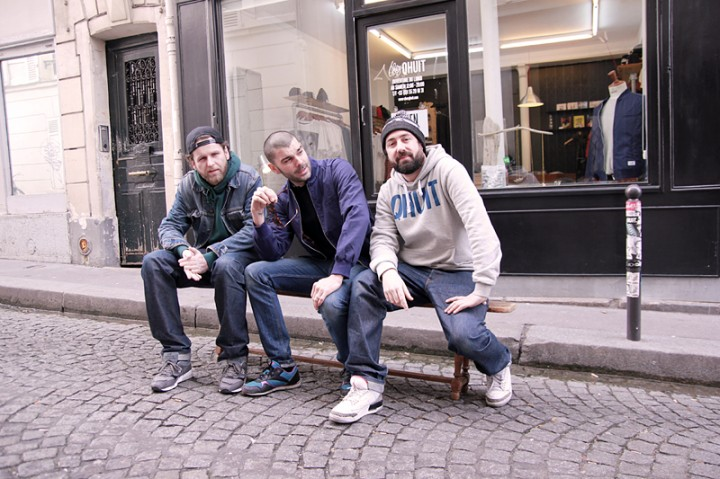 Owners of Chez QHUIT Store Paris