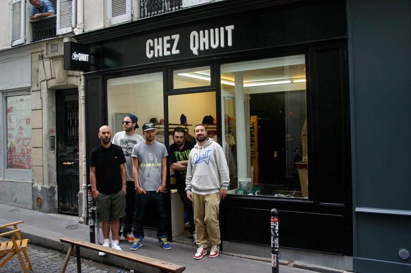 Boutique Chez Qhuit Paris
