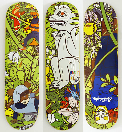 Skateboard Design by MEGA