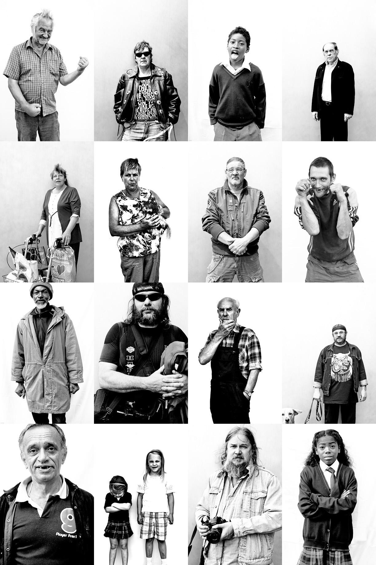 Urban Strangers Portraitserie von Jo Fischer - mit Leica M9