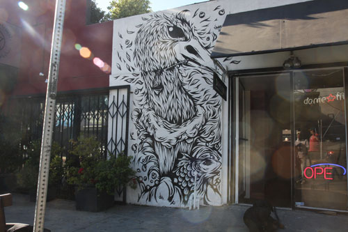 Wallpiece by Swanski, Los Angeles
